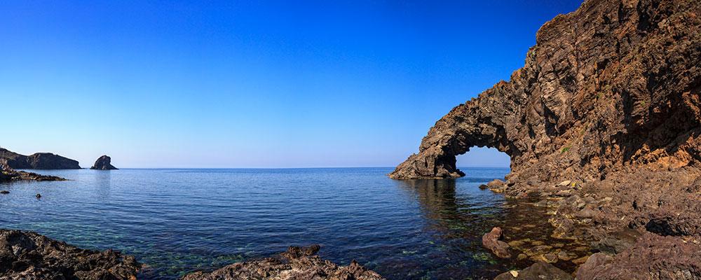Arco dell'elefante a pantelleria