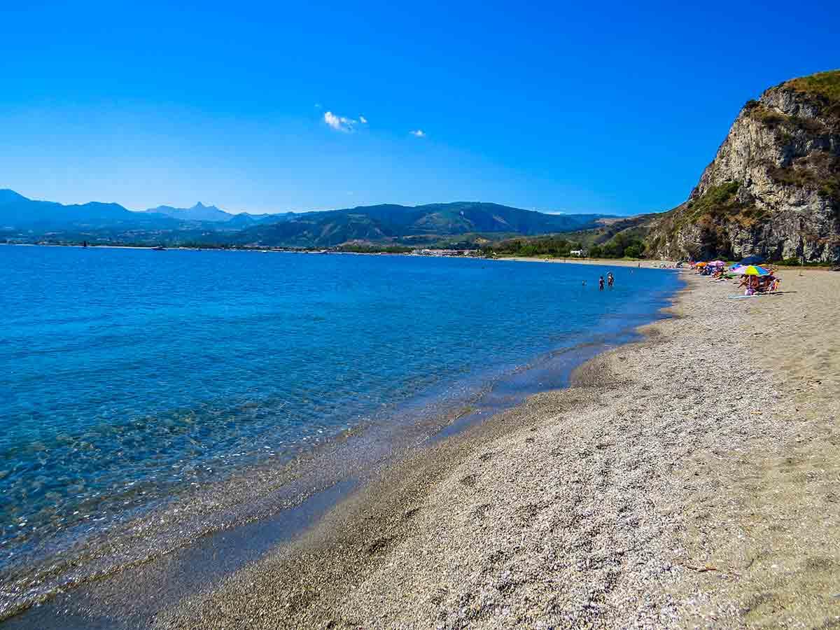 Spiaggia di Tindari (Messina)