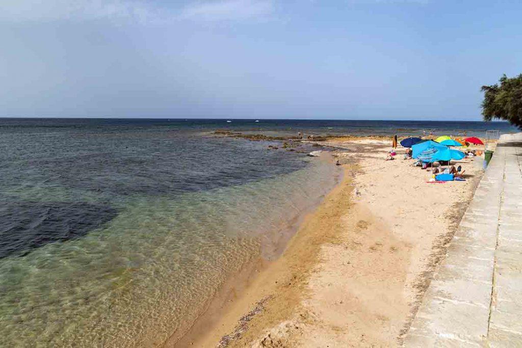 Spiaggia Marzamemi (Siracusa)