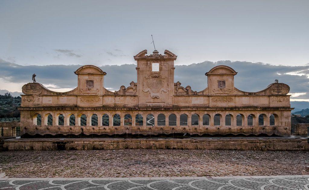 Granfonte (grande fontana), Leonforte, provincia di Enna, Sicilia