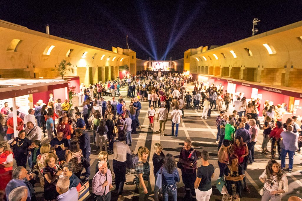 I visitatori lo scorso anno al Sistema delle piazze