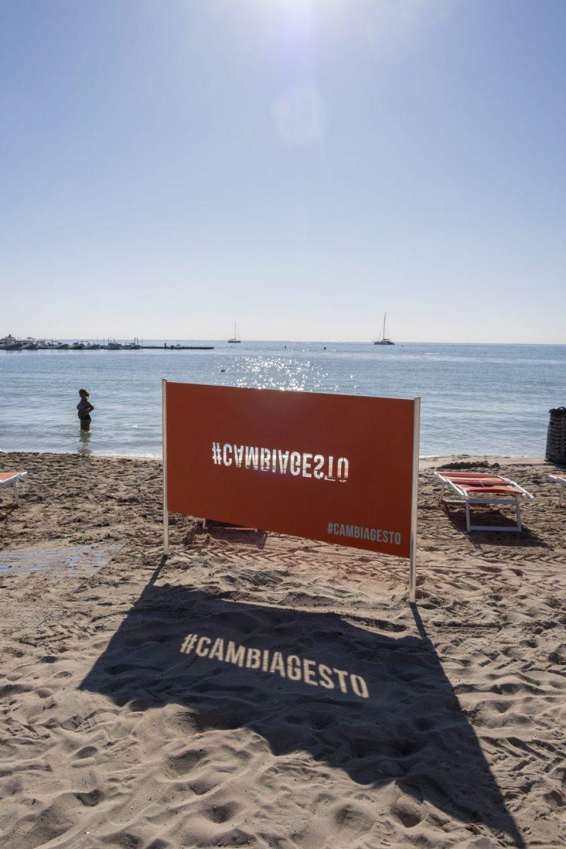 Lanciata a Palermo la campagna #CAMBIAGESTO, ideata per contrastare l'inquinamento dei mozziconi di sigaretta
