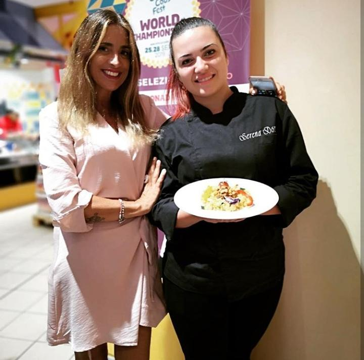 Serena Domante con Cinzia Gizzi