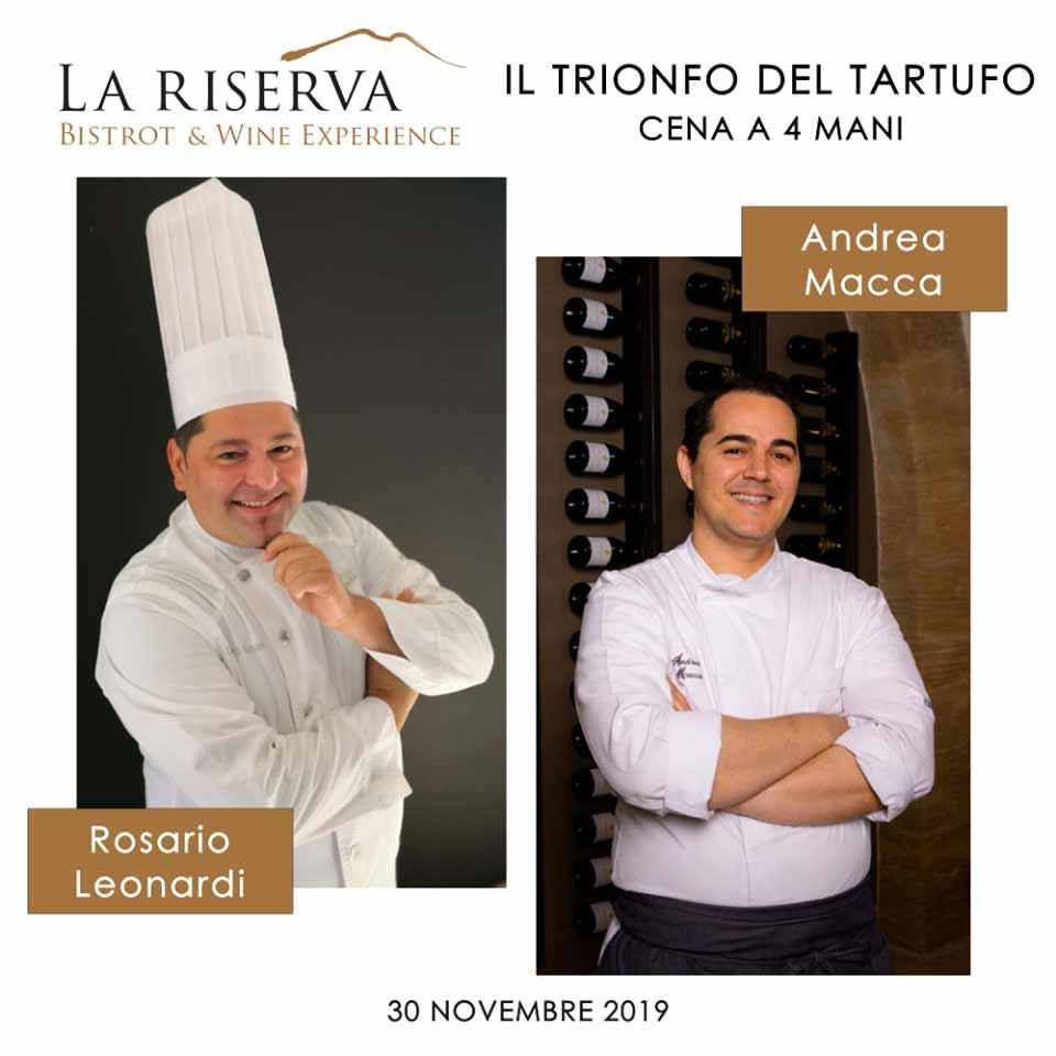 Cucina a 4 mani per il Tartufo Siciliano