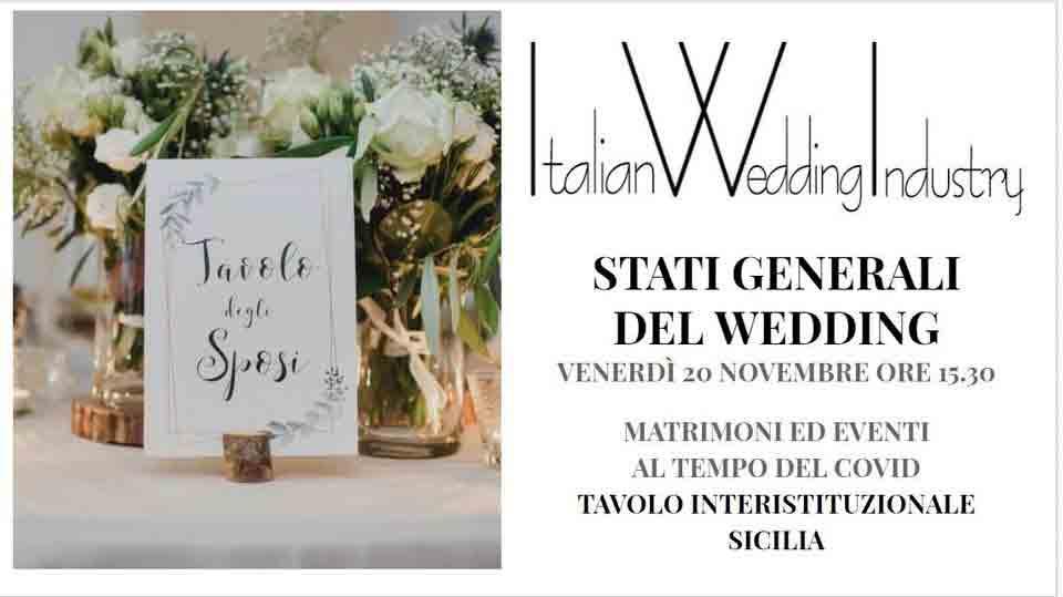 Italian Wedding Industry indice un tavolo interistituzionale per salvare la filiera