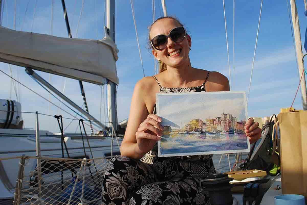 Palermo dal mare 2020